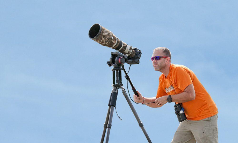 Josh Photographing